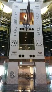 Centurion Club Miami elevator up to club delta points blog