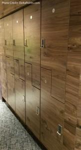Centurion Club Miami lockers left of reception delta points blog