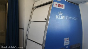 KLM Euro business class from Manchester to Amsterdam then to Gothenburg Delta Points blog (9)