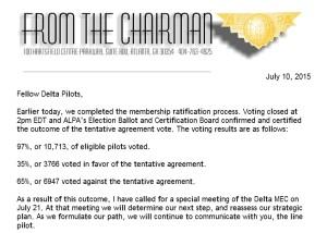 delta pilots reject contact