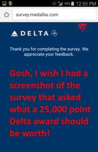 delta survey screenshot