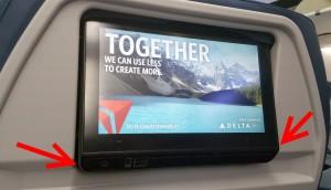 new tilt screen for Delta 737-900er
