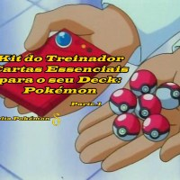 KIT DO TREINADOR  AS CARTAS ESSENCIAIS PARA O SEU DECK: POKÉMONS