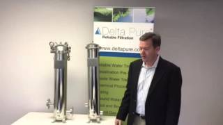 [video] Delta Pure Filtration FF series liquid filter assembly