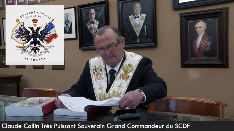 Ailleurs sur la planète : Claude Collin, Très Puissant Souverain Grand Commandeur du Suprême Conseil De France, nous parle d'éveil spirituel