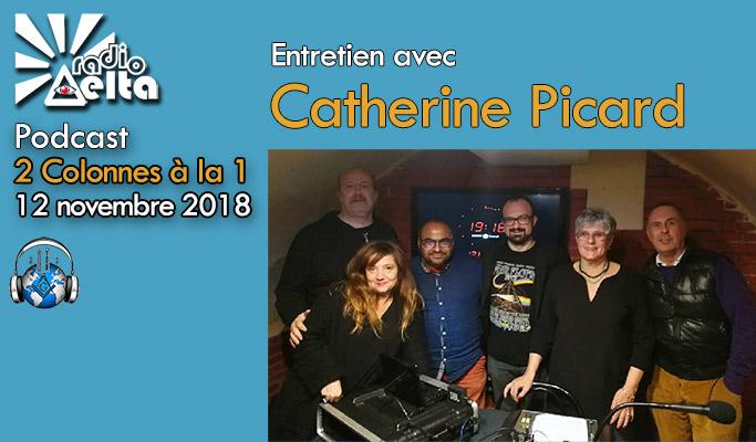 2 Colonnes à la 1 – 54 – 12 novembre 2018 – Podcast de l'émission  « Franc-maçonnerie et sectes »