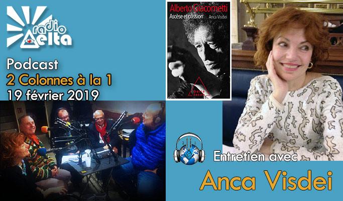 2 Colonnes à la 1 – 56 – 19 février 2019 – Podcast de l'émission « Ascèse et passion »