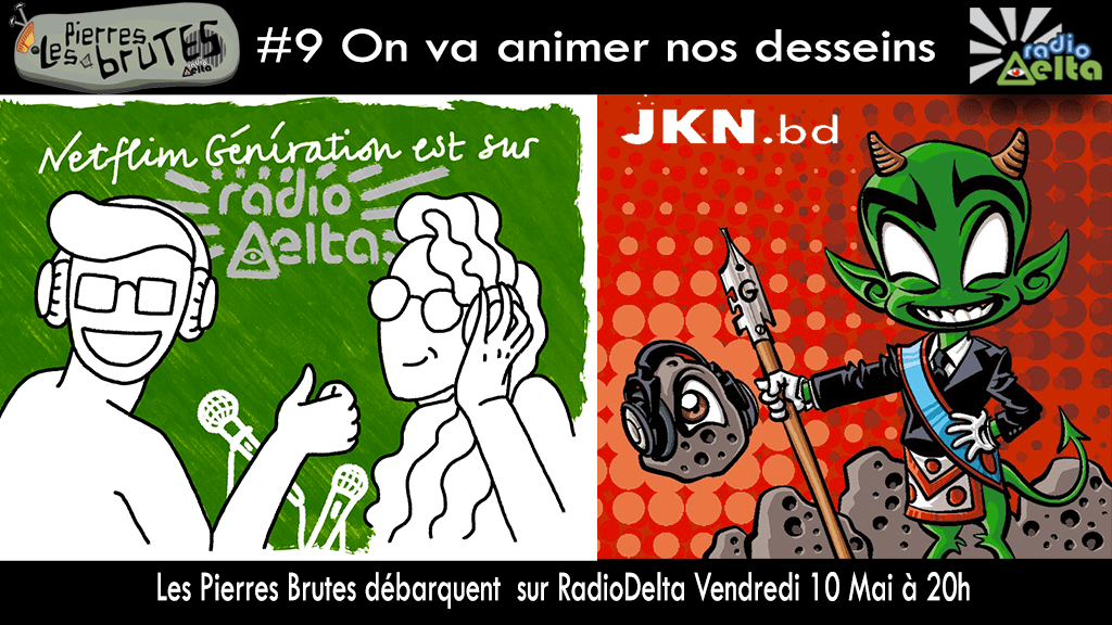 Les Pierres Brutes #9 – 10 mai 2019 – « On va animer nos desseins ! »