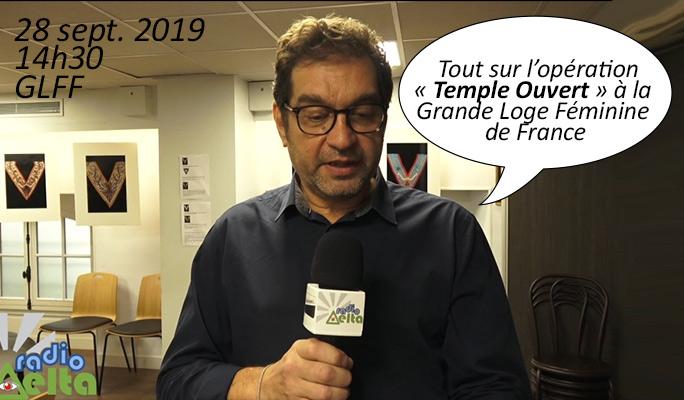 Delta-Info : Journée « Temple Ouvert » à la Grande Loge Féminine de France – Samedi 28 sept. 2019 – 14h30