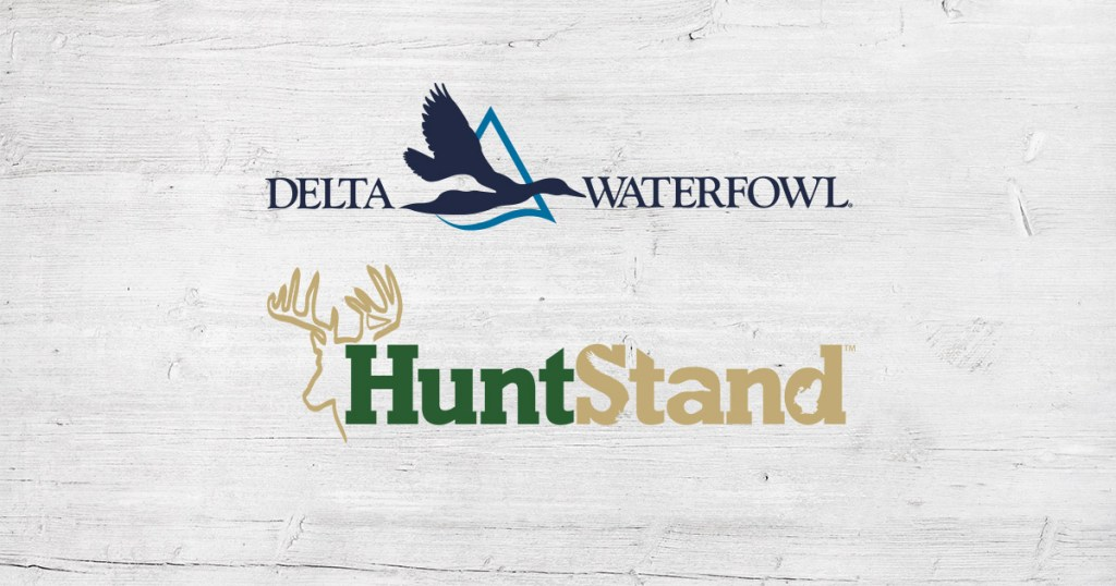Huntstand is a Delta Waterfowl Sponsor
