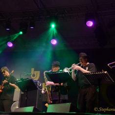 Tony, Tom, Gerald, John, David - Umbria Jazz, Italy