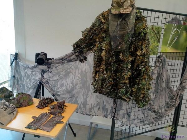Habillement, matériel photo et expo