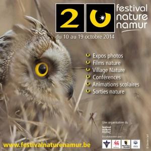 Programme du Festival Nature Namur