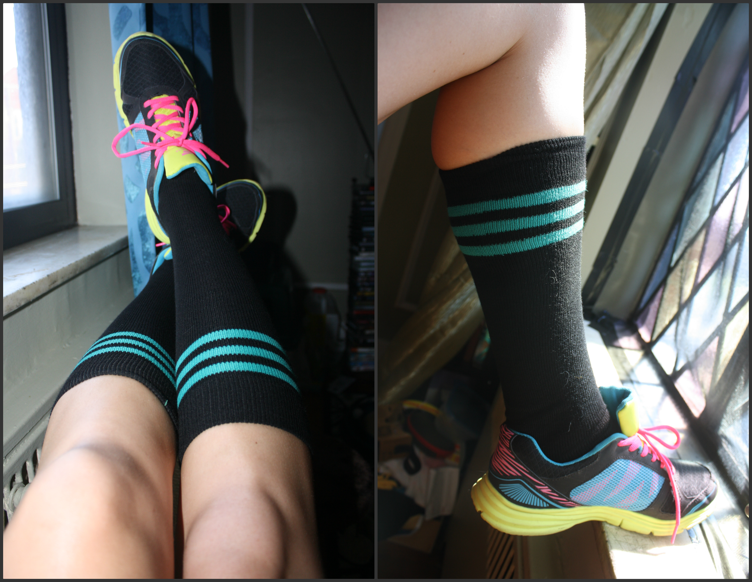 f8054896d Some Fashion Fun With Chrissy s Knee High Socks  A Review - Deluded ...