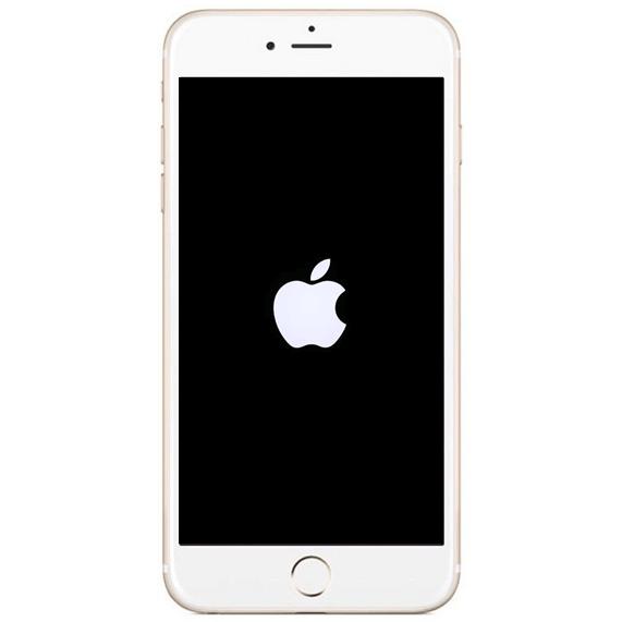 iPhone IP Klinik DeLuecKS Betriebssystem Repartur hängt beim Apple Logo fest