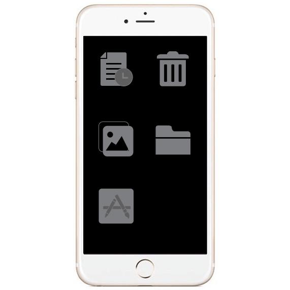iPhone IP Klinik DeLuecKS Betriebssystem entfernung überlasteten Junk-Dateien, Caches, und unsichtbare nutzlose Daten