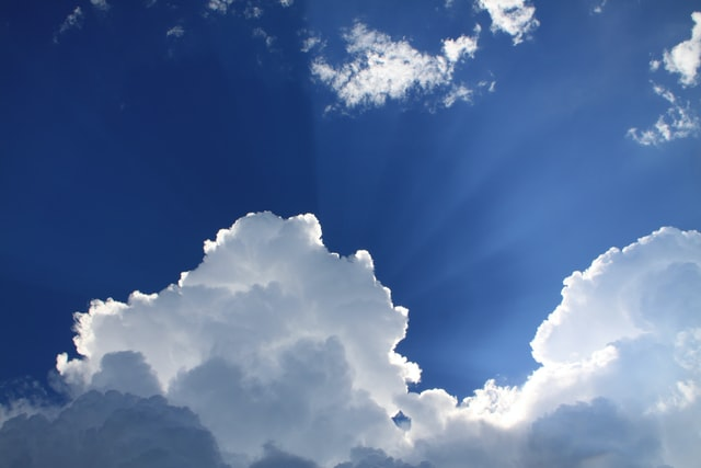 beautiful sky botswana