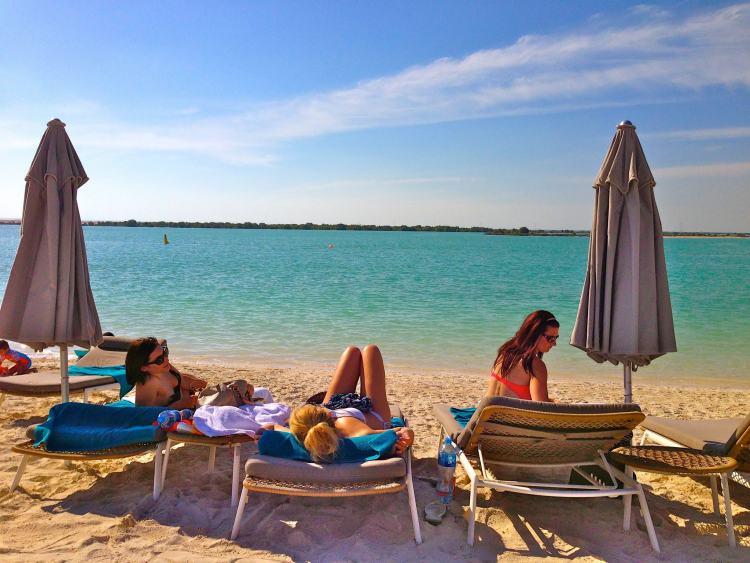Abu Dhabi Beach girls