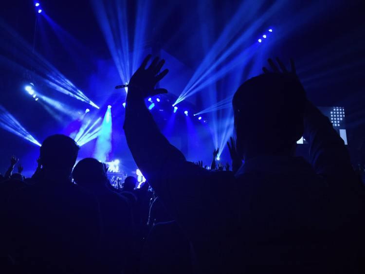 Abu Dhabi Nightclub hands