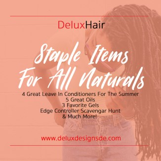 Staple Items For All Naturals
