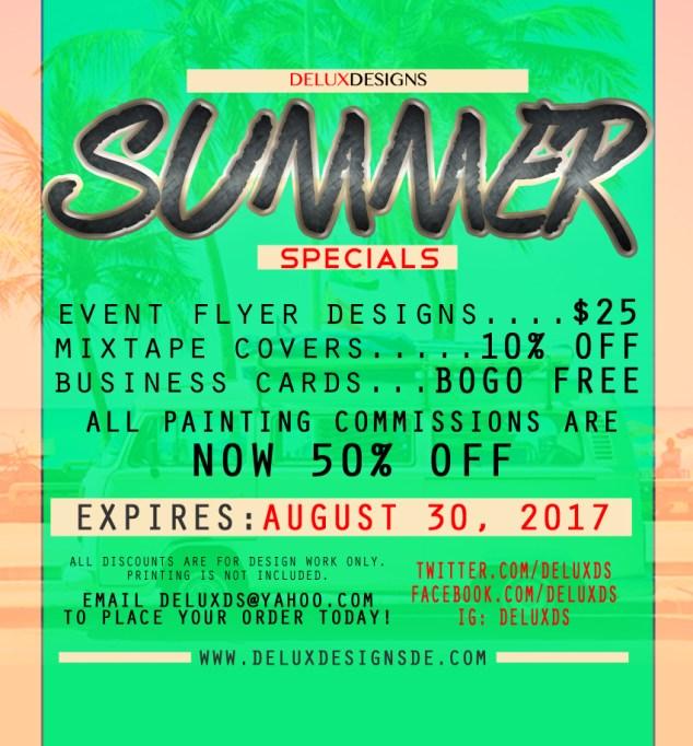 Summer Specials 2017 (2)