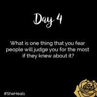 #31DaysSheHeals - Day 4