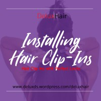 DeluxHair - How to Install Clip - In Extensions with Perfect Locks