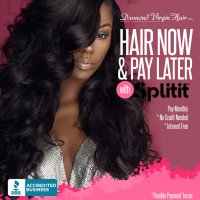 DeluxHair - Hair Now and Pay Later with Diamond Virgin Hair