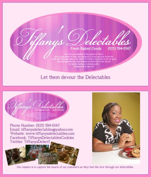 Tiffany's Delectables together