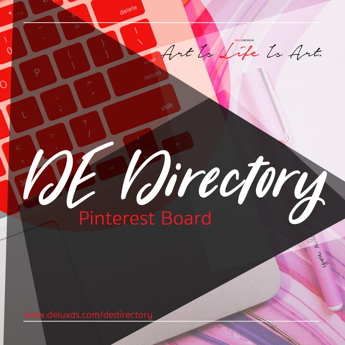 DE Directory Pinterest Board