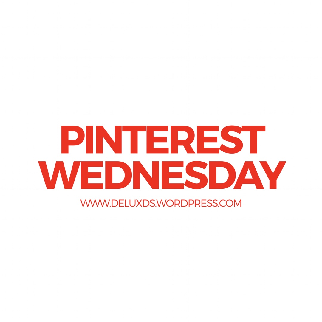 Pinterest Wednesday while Blogging with DE