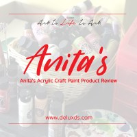 Anita's Acrylic Paint Product Review