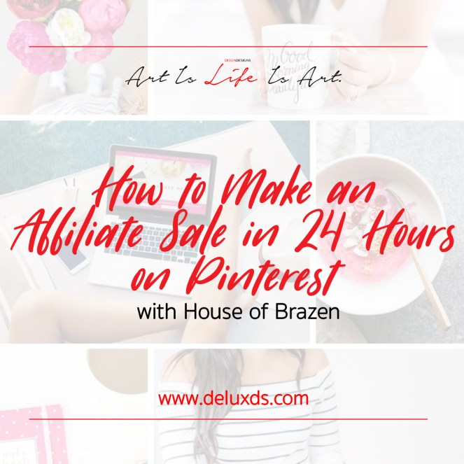 Pinterest Affiliate Sales