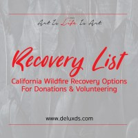 California Fire Relief Resources