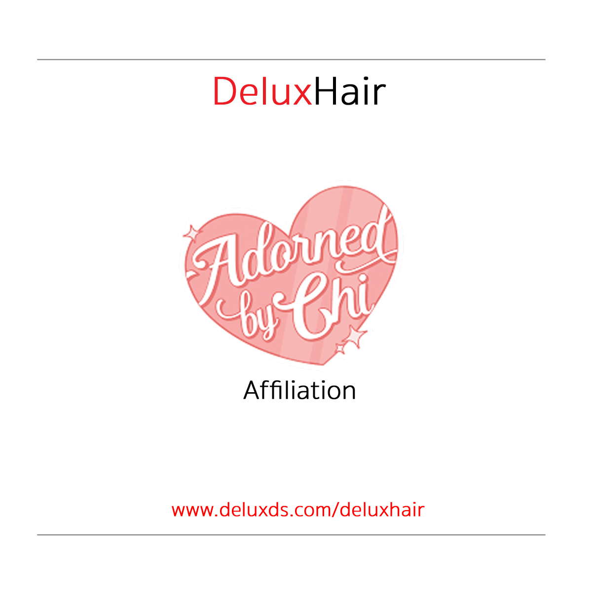 DeluxHair - Affiliate Spotlight [ Adorned by Chi ]