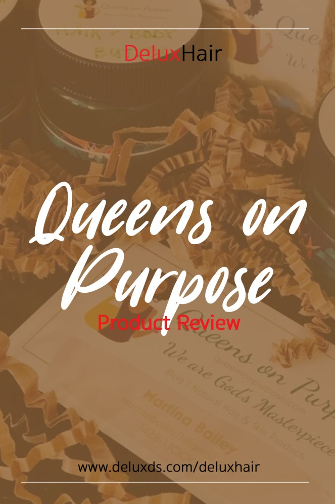 Queens on Purpose Product Review pinterest