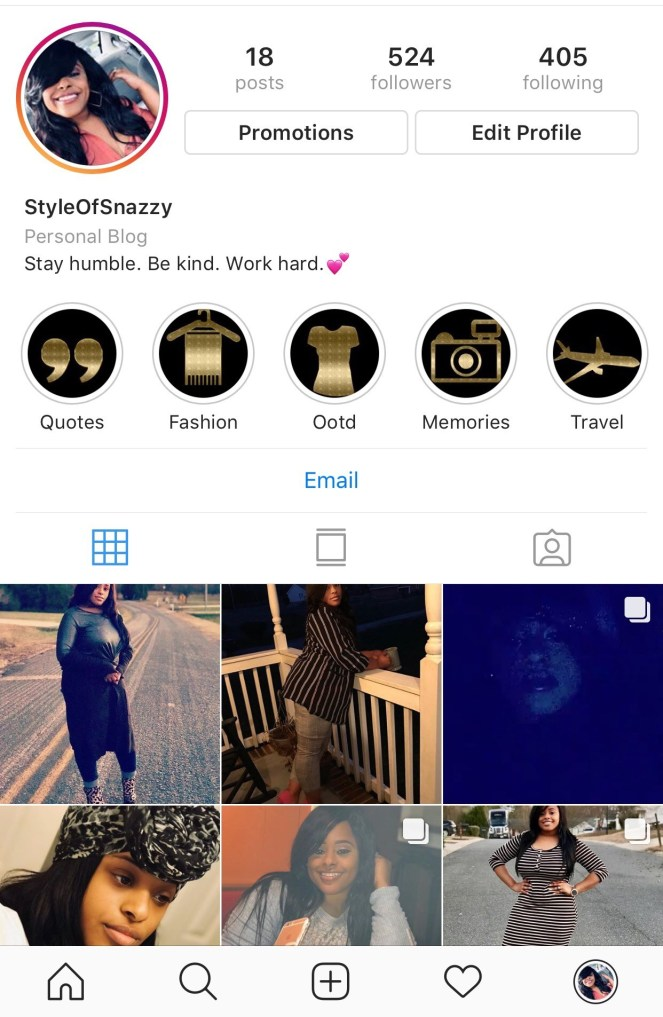 Style of Snazzy IG