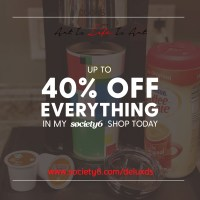 40% off Everything with Society6