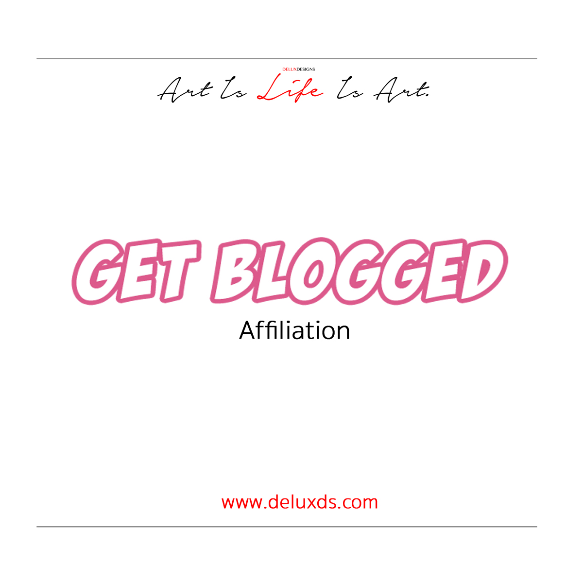 Affiliate Spotlight - Get Blogged