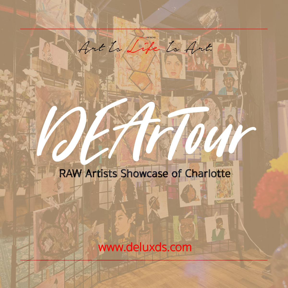 DEArTour - RAW Artist Showcase Charlotte
