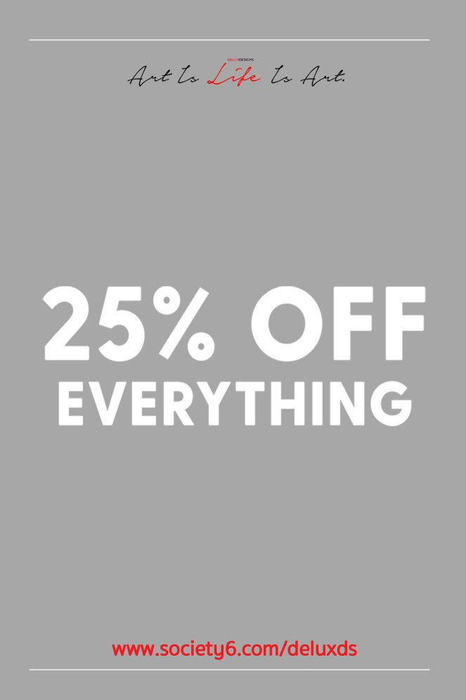 25% Off Everything Pinterest