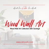 Wood Wall Art Collection with Society6