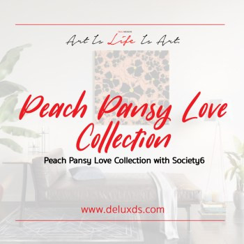 Peach Pansy Love Collection