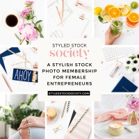 Online Course Templates with Styled Stock Society