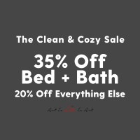 Clean and Cozy Sale with Society6