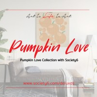 New 'Pumpkin Love' Collection with Society6