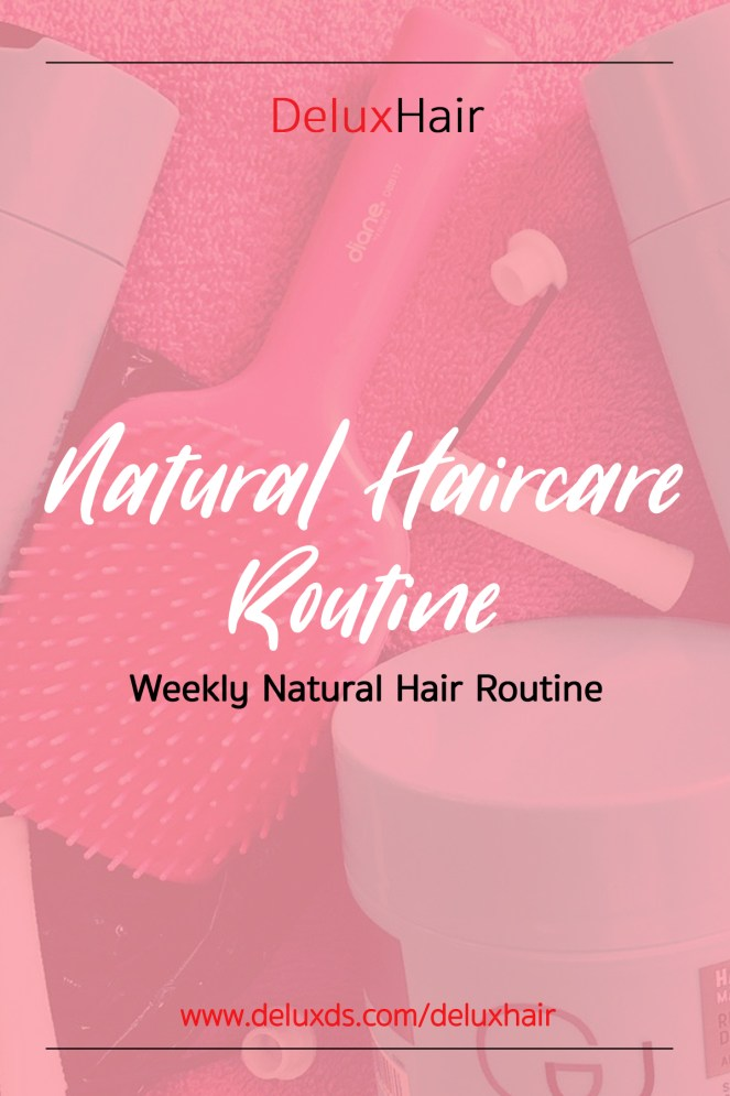 Natural Haircare Routine pinterest