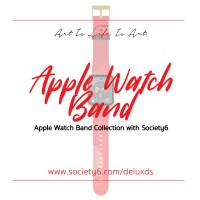 New Apple Watch Bands with  Society6