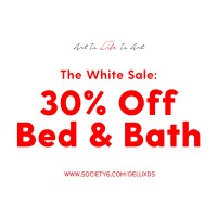 White Sale with Society6