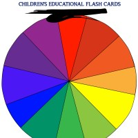 COLORS Flashcards - Coloring Edition